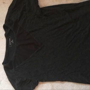 mesh triangle comfy shirt